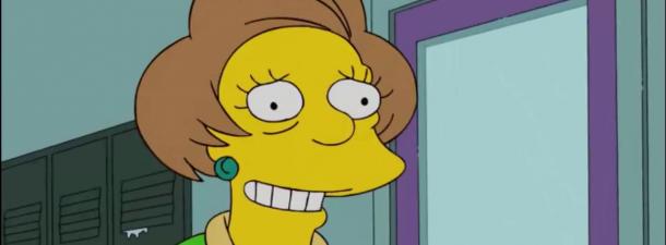 Bart Follando Con Edna Simpsons